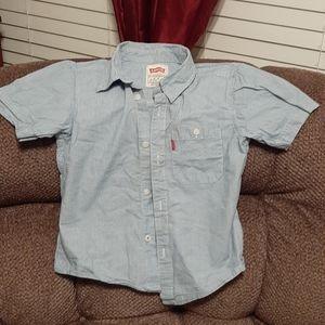Levi's boys shirt size 6/m